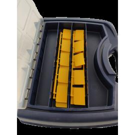 Tayg toolkoffer  met vakverdeling in deksel Nº 43