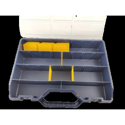 Tayg assortimentskoffer blauw 47-26 met schuine voorkant