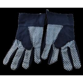 Dames werkhandschoen blauw