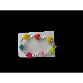 Armband met hart en ster (per 12 st.)