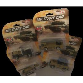 Militair voertuig (per 4 st)