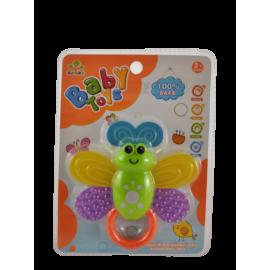 Baby sleutel/Baby vlinder (per 2 stuks)