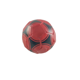 Softballen zachte sportballen handformaat kunstleer 3 in net