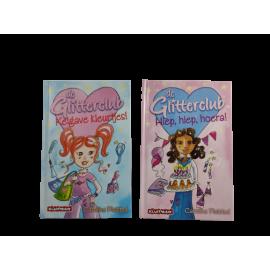 De glitterclub leesboek  van Kluitman