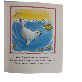 Joupy de kleine zeehond; een Kluitman voorleesboek
