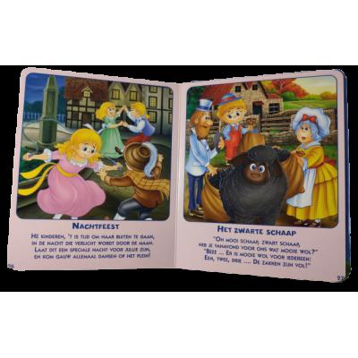 Venster Karton Boek Rijmpjes en Versjes