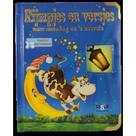 Rijmpjes en Versjes venster karton boek