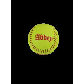 Abbey Official Softball Fluorgeel