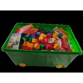 CoKaDo bouwstenen box 337 stuks formaat K2 middelgroot