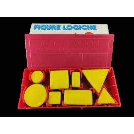 Figure Logische 48dl set geometrische figuren in rood geel blauw