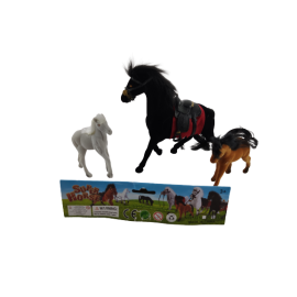 Paarden in zak