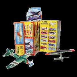 Vouwvliegtuigje foam (per 48)
