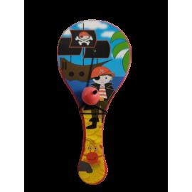 Palletje met bal; piraat (per 12 stuks)