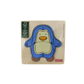 Fisher-Price Houten Puzzel Pinguin