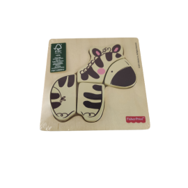 Fisher-Price Houten Puzzel Zebra