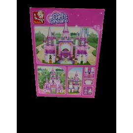 Sluban  Girl's Dream Prinsessenkasteel; 472 pcs M38-B0152