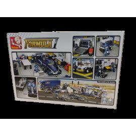 Sluban  Formula 1; F1 Garage; 741 pcs. M38-B0356
