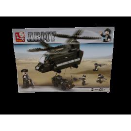 Sluban Army Transporthelikopter 370pcs M38-B6600