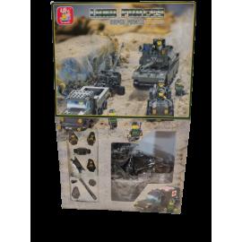 Sluban Land Forces Field Battle Troops 717pcs  M38-B6900