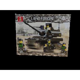 Sluban Land Forces  K-9 tank 258pcs M38-B9800