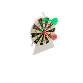 Magnetisch dartspel / beslissingmaker / pennenbak in één (per 5)