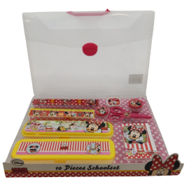 Disney Schoolset 10-delig Minnie Mouse