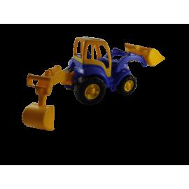 Shovel/Tractor met 2 grijpers