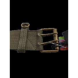 Katoenen riem met 3 tasjes