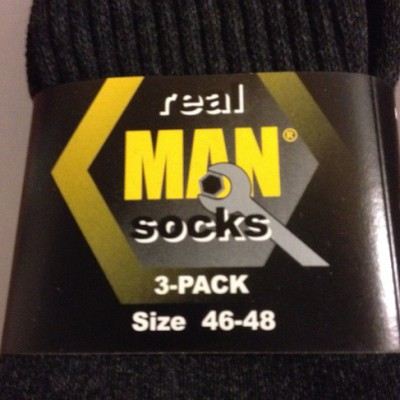 """Man"" werksokken real MAN socks"
